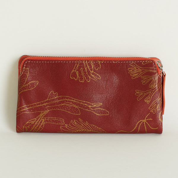 Apollo Wallet Red Ochre - Nancybird