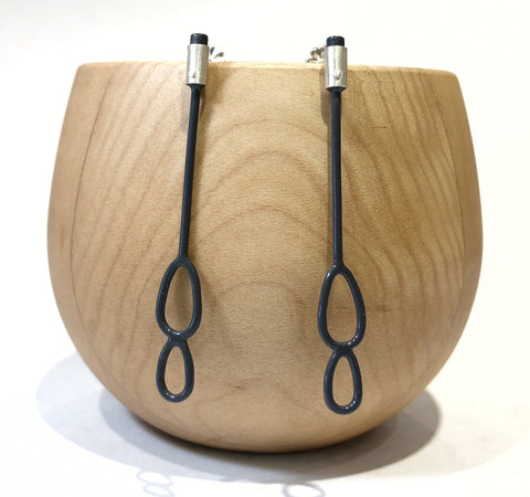 Oval Stick Earrings - Ella Calas