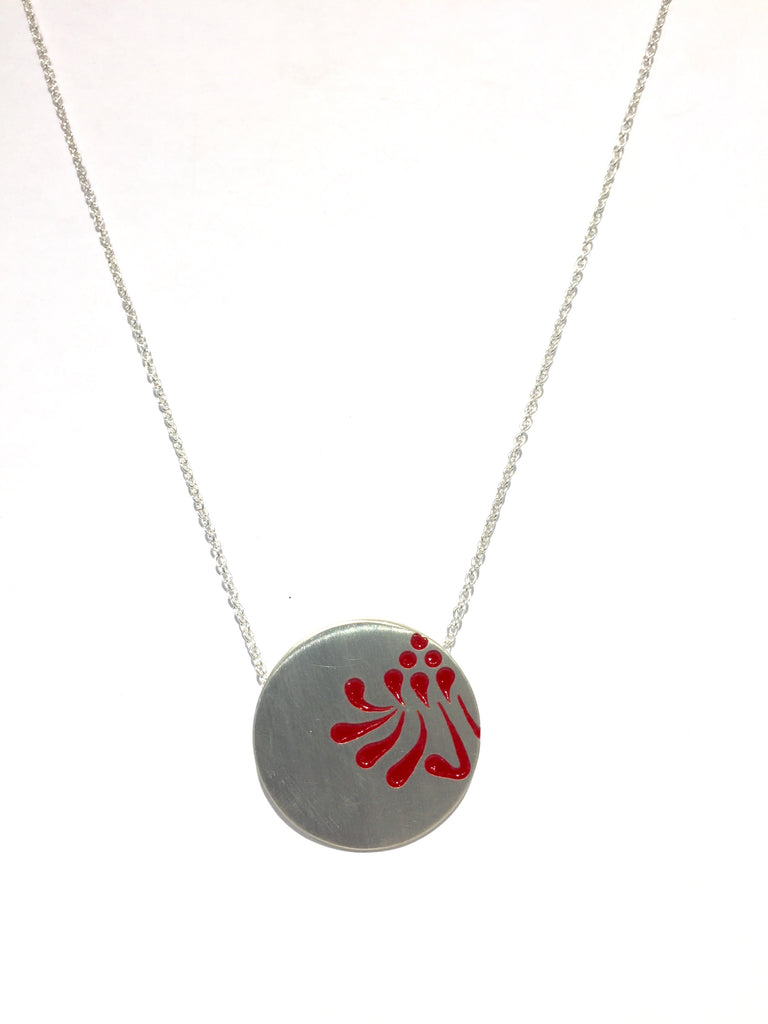 Large Waratah Necklace - Emma Kidson