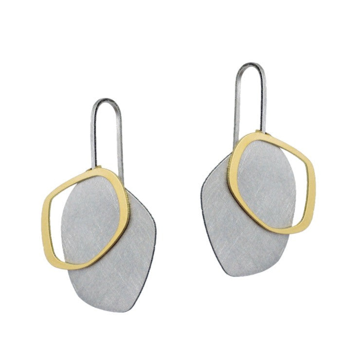 Small Solid X2 Earring - inSync design