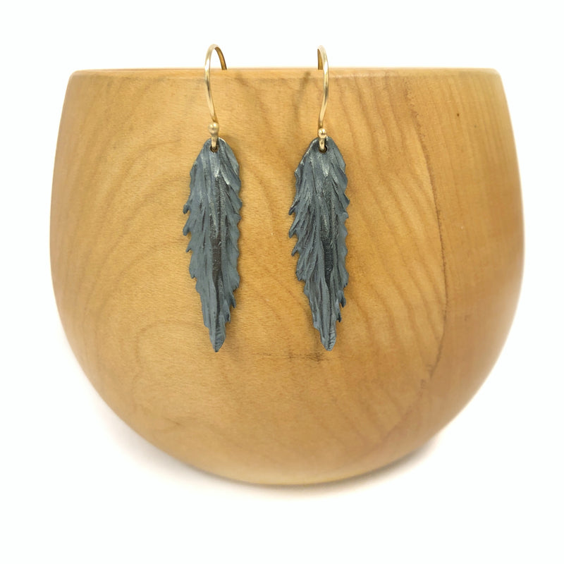 Fern Earrings - Rebecca Overmann