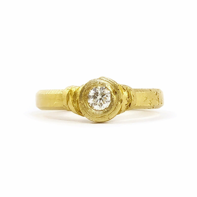 Wrapped Diamond Ring - Fraser Hamilton