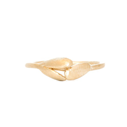 Gold Petal Ring - Aphra Ellen