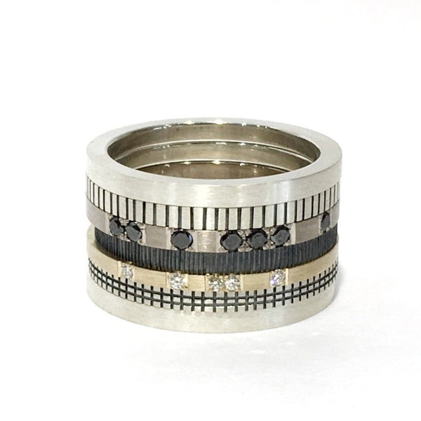 Rebel Alliance 7 Stack Ring - Cass Partington