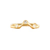 18ct Yellow Gold & Diamonds Wedding Set Rings - Johnny Ninos