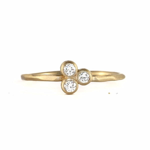 Clover Diamond Ring - Rebecca Overmann