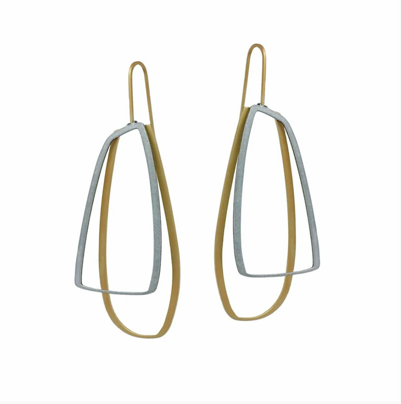 Large Outline X2 Earring - inSync design
