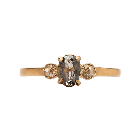 Trio Rose-cut Diamond Ring - Rebecca Overmann