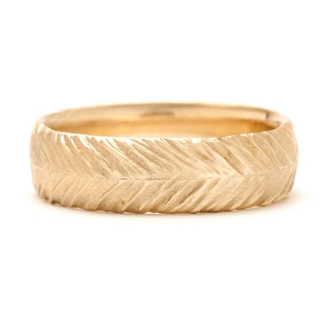 Men's Feather Band by Rebecca Overmann