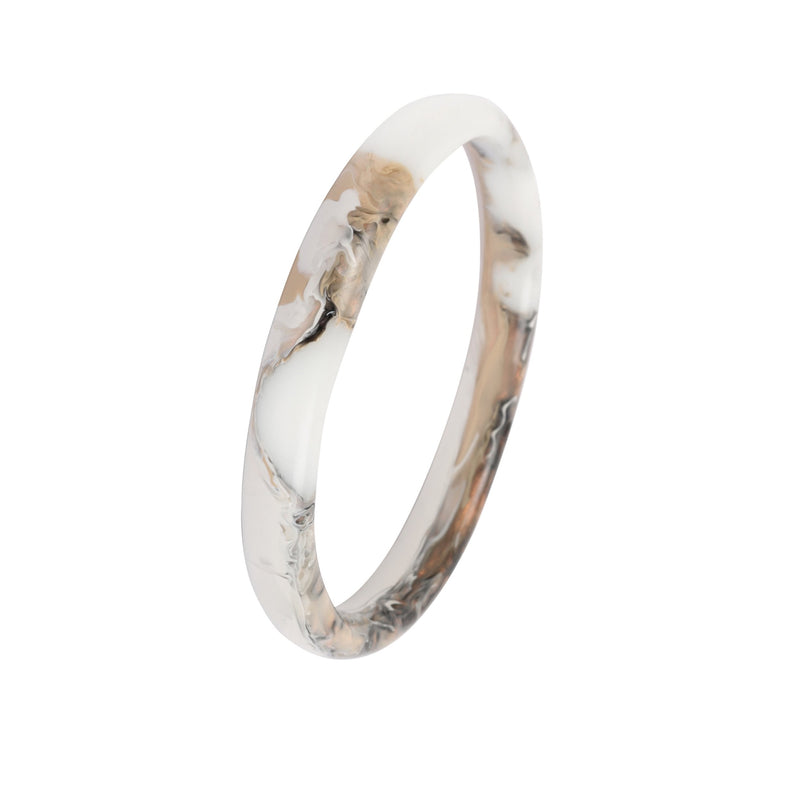 Wishbone Bangle in Sandy Pearl - Dinosaur Designs