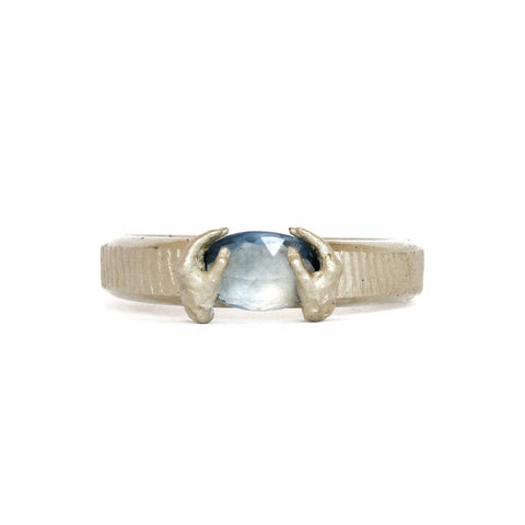 Blue Sapphire Placed Ring - Fraser Hamilton
