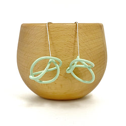 Dangle Knot Small Earrings - Kate Sale