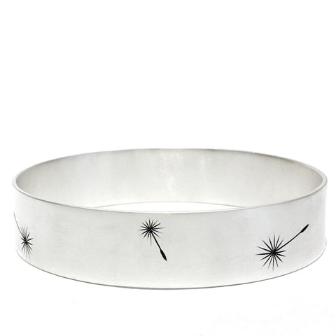 Dandelion bangle 15mm - Ash Hilton