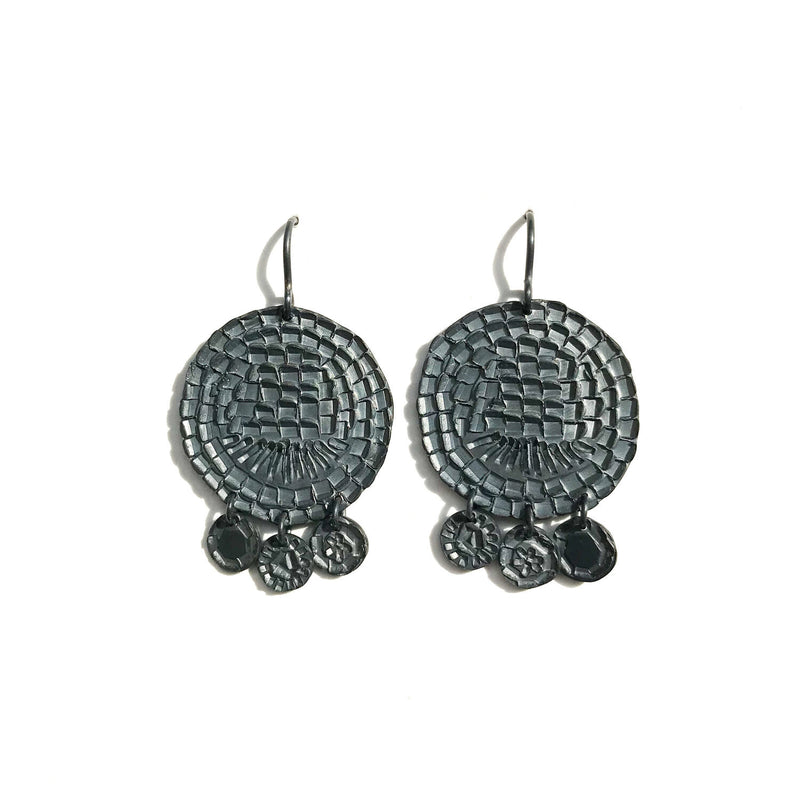 Shimmy Shimmy Circles Earrings - Milly Thomas