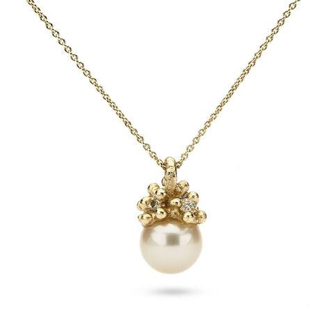 Encrusted Pearl Pendant - Ruth Tomlinson