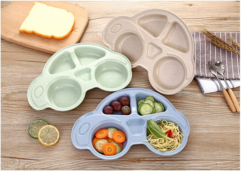 Car Shaped Baby Dishes