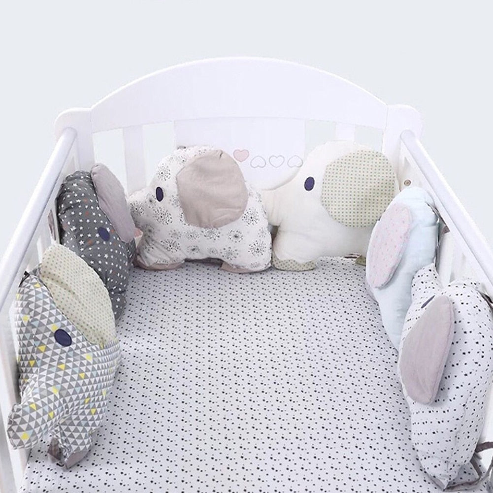 Cotton Crib Bumper