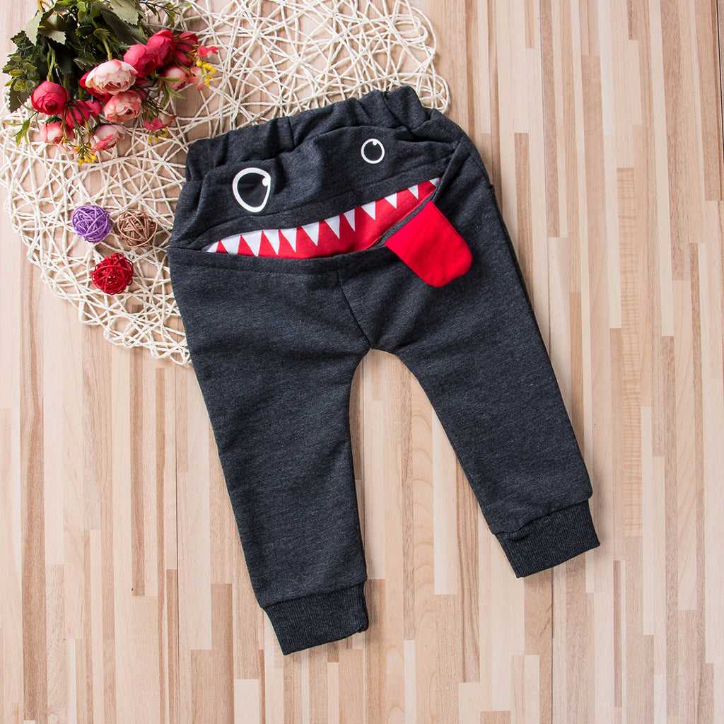 Trendy Toddler Big Mouth Harem Pants for Boys by frugalbabies.com