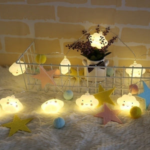 Decorative Cloud Fairy Light by Frugalbabies.com