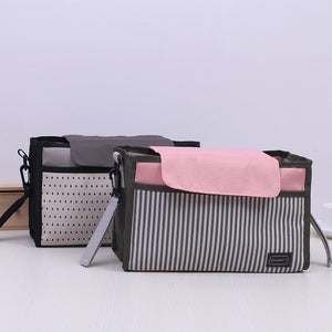 Baby Stroller Accessoris Bag Stroller Organizer deep cup holder nursery storage Cart Bag carryall diaper bag baby shower gift