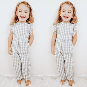 Cotton Romper for Little Ladies