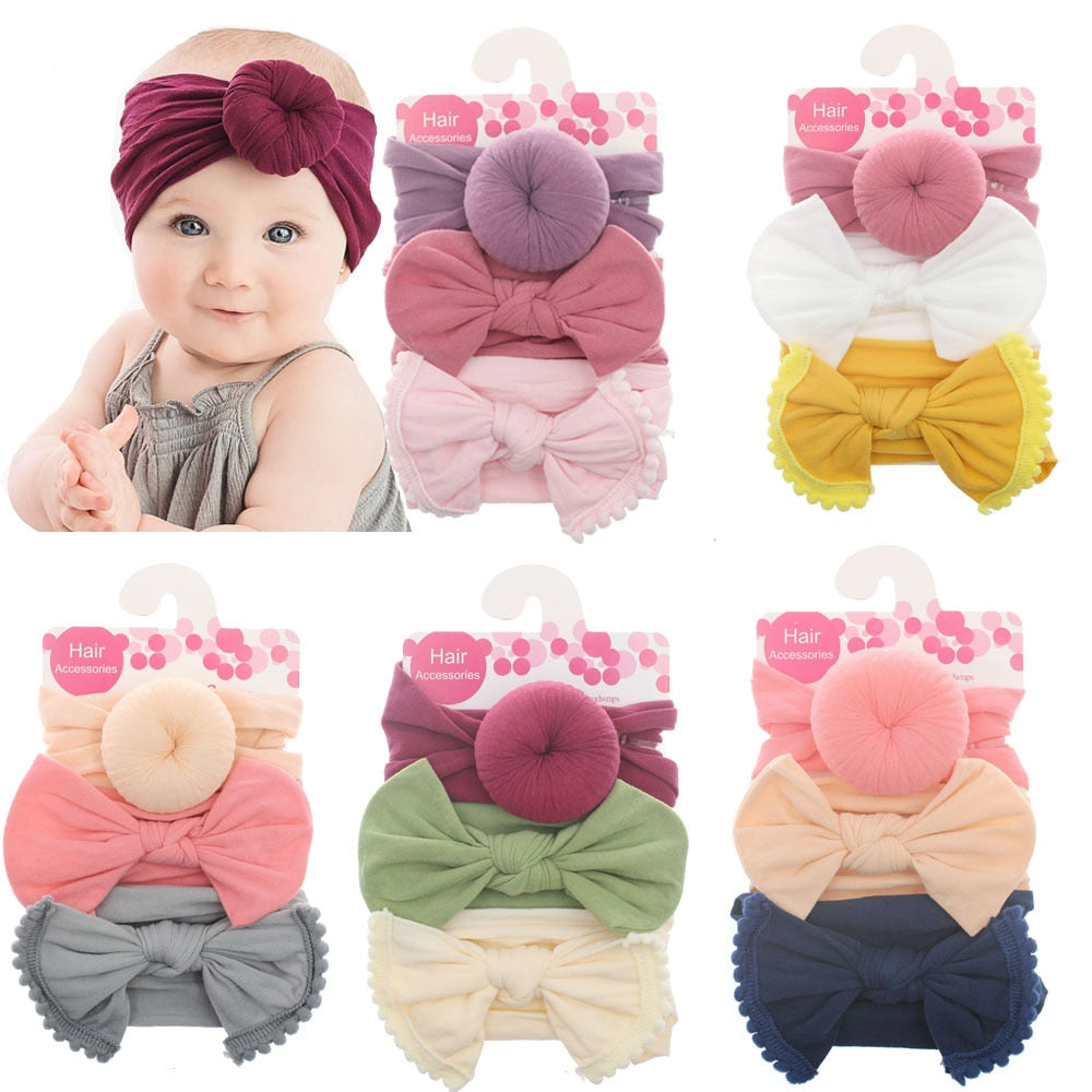 3pcs Baby Fashion Headband