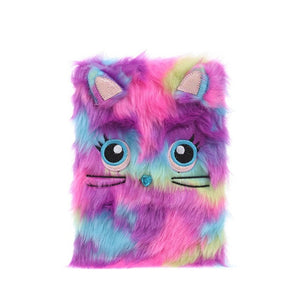 Fluffy Plush Notebook  by frugalbabies.com