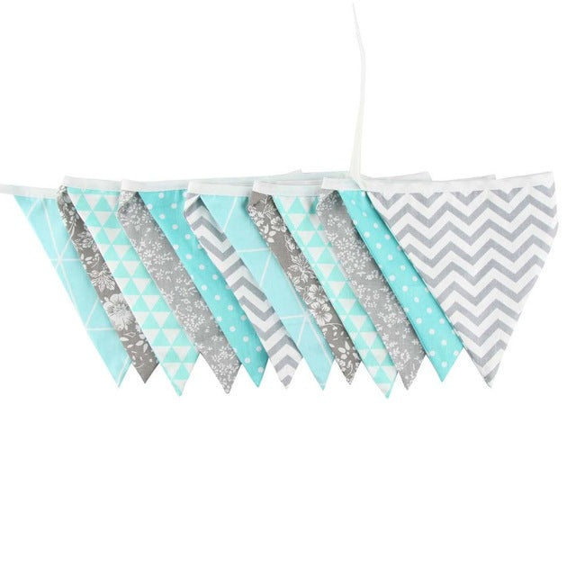 Cotton Fabric Flags by Frugalbabies.com