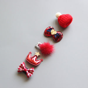 5pcs Baby Hair Clip Set  by frugalbabies.com