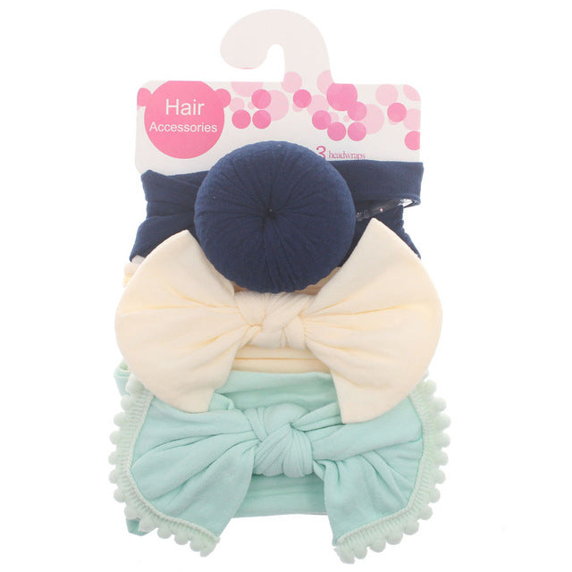 3pcs Baby Fashion Headband by frugalbabies.com