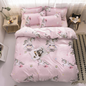 Rainbow Unicorn Bed Sets