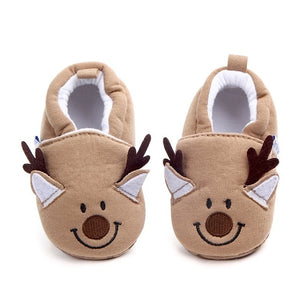 Soft Cotton Baby Slippers