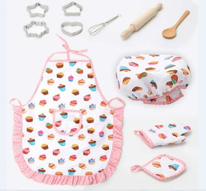 Kitchen Deluxe Chef Set by frugalbabies.com