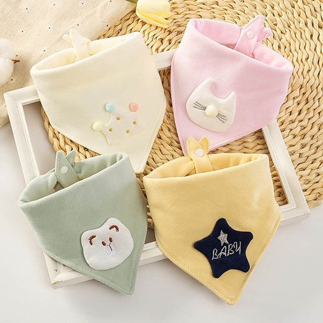 Double Cotton Triangle  Bibs