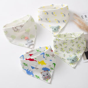 Double Cotton Triangle Bibs by Frugalbabies.com