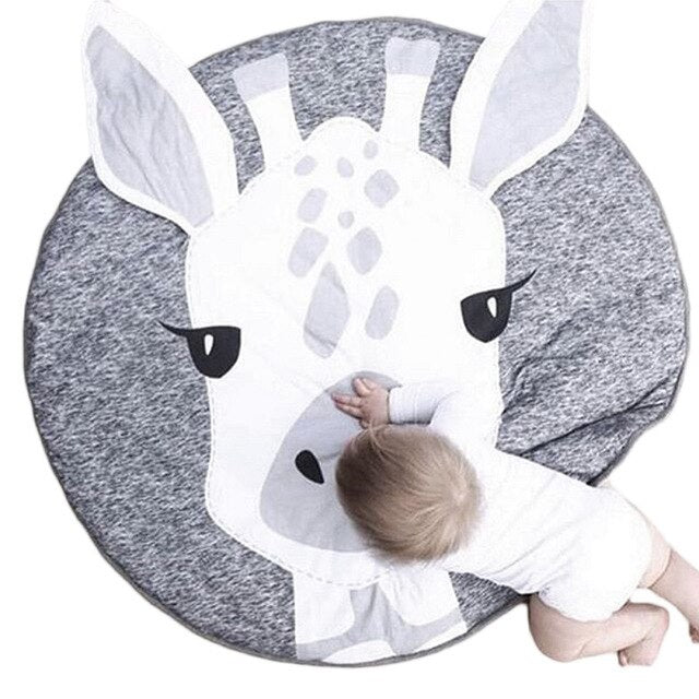 Cotton Crawling Mat by frugalbabies.com