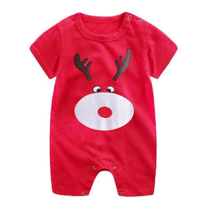 Cotton Baby Short Sleeve Romper by frugalbabies.com