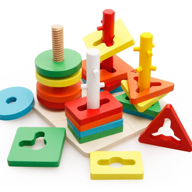 Great Educational Wooden Toys By Frugal Babies