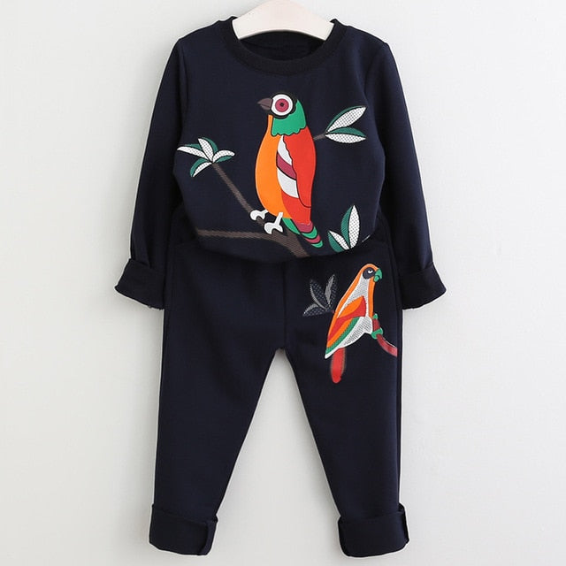 Trendy Tracksuits for Little Ladies frugalbabies.com