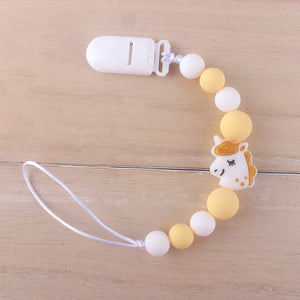Animal Pendant Pacifier Clips by Frugalbabies.com