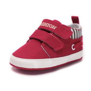 Cotton Baby Boy Moccasins