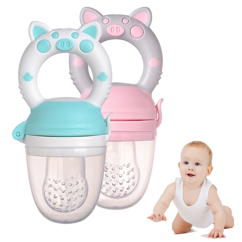 Fresh Food Nibbler - Baby Feeder by frugalbabies.com