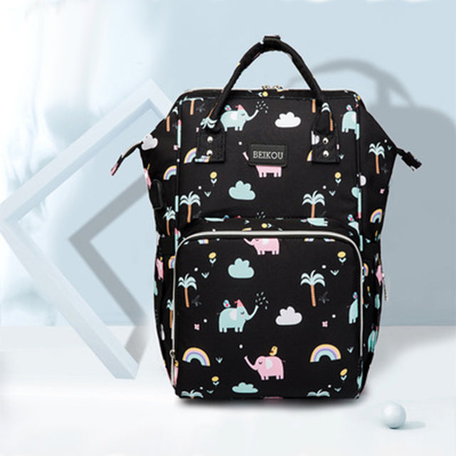 Multi-storage Diaper Backpack by Frugalbabies.com