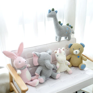 High Quality Knitted Plush Toy by Frugalbabies.com