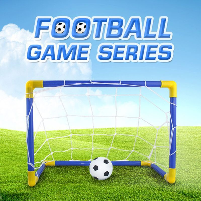 Football Goal Toy Set by frugalbabies.com