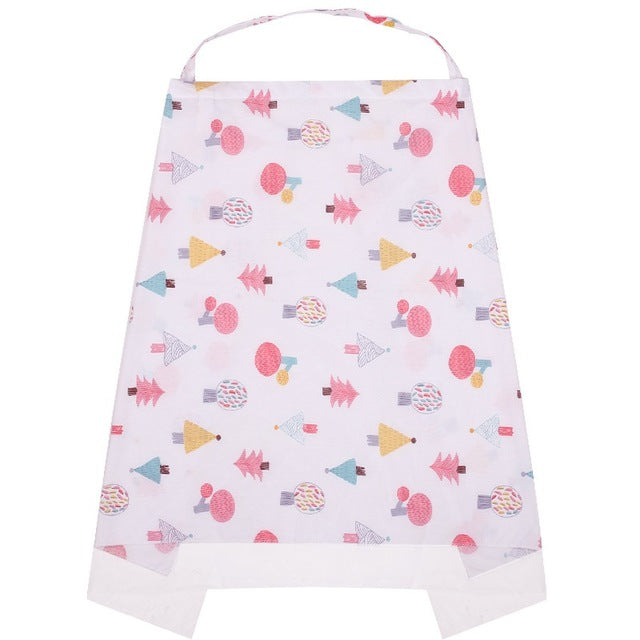 100 % Cotton Nursing Cover by frugalbabies.com