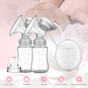 Bilateral Electric Breast Pump by frugalbabies.com