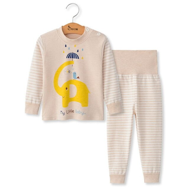 Long Sleeve Sleepwear Set for Little Ladies