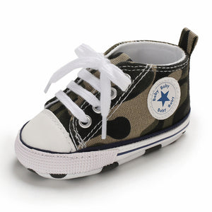 Baby Anti-Slip Soft Cotton Casual Sneakers by Frugalbabies.com