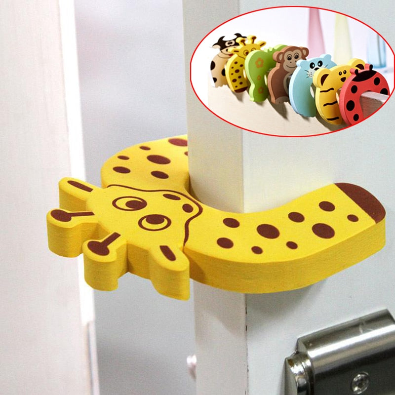 Animal Door Jammer (Five Piece) by frugalbabies.com